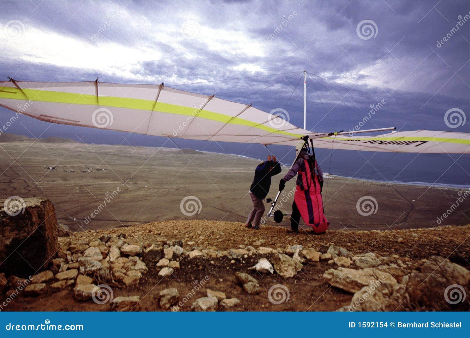 Hanggliding en Lanzarote 1