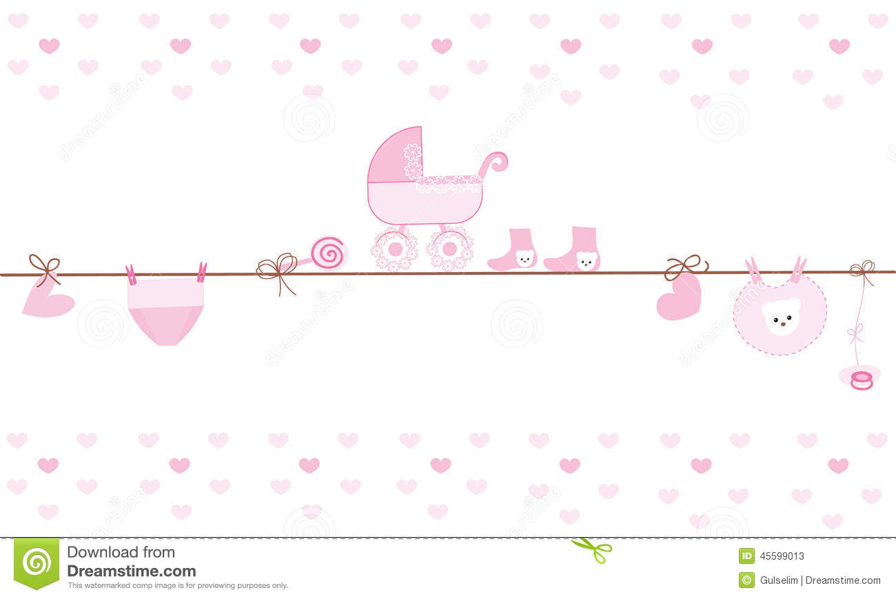 Hanging Baby Boy Clothing Symbols With Ballon Stock Vector ...