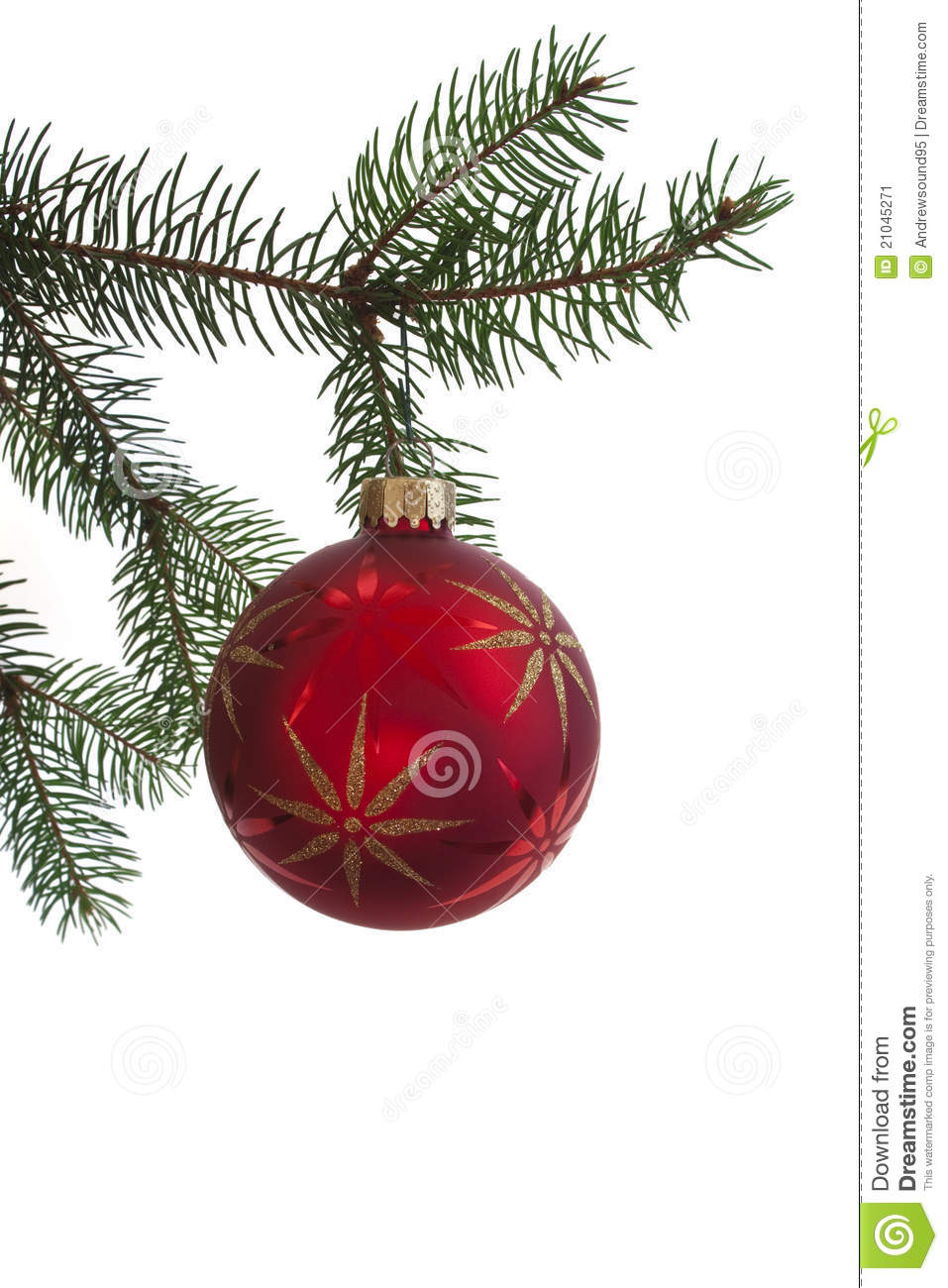 Hanging christmas ornament stock image image 21045271 - Hanging christmas ornaments ...