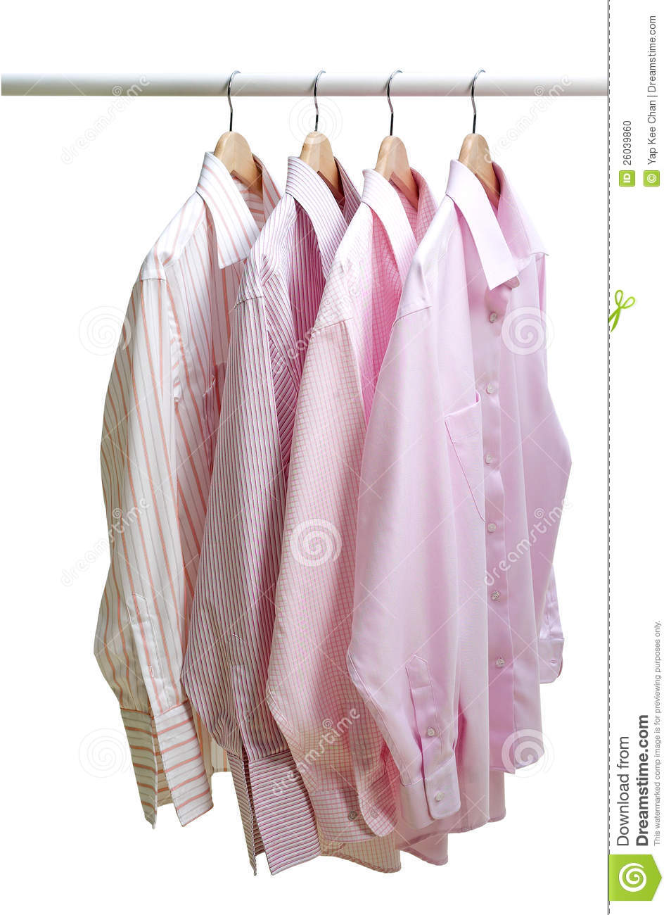 hanging clothes stock photo image of white outlook
