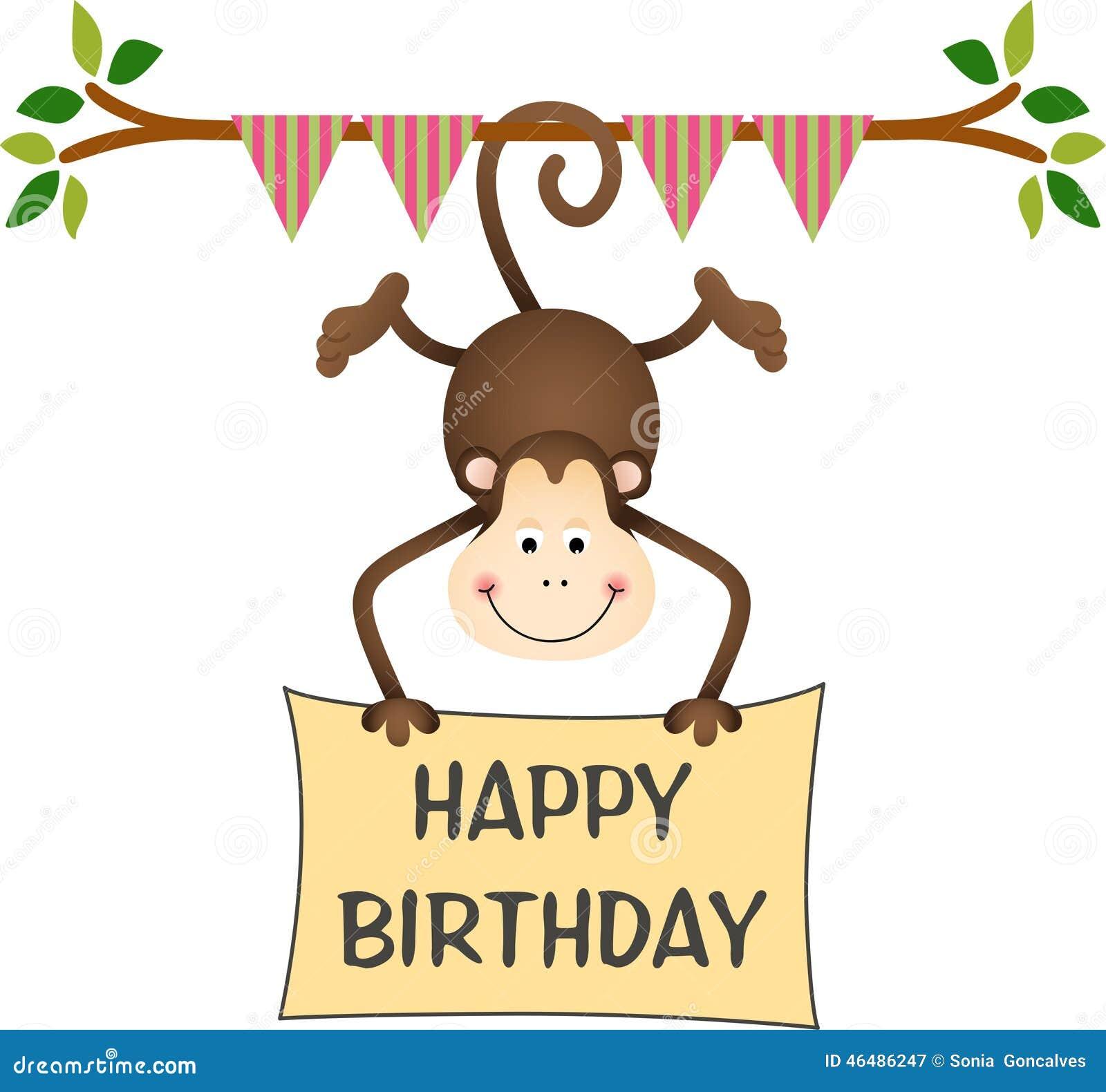 happy birthday funny monkey - photo #32
