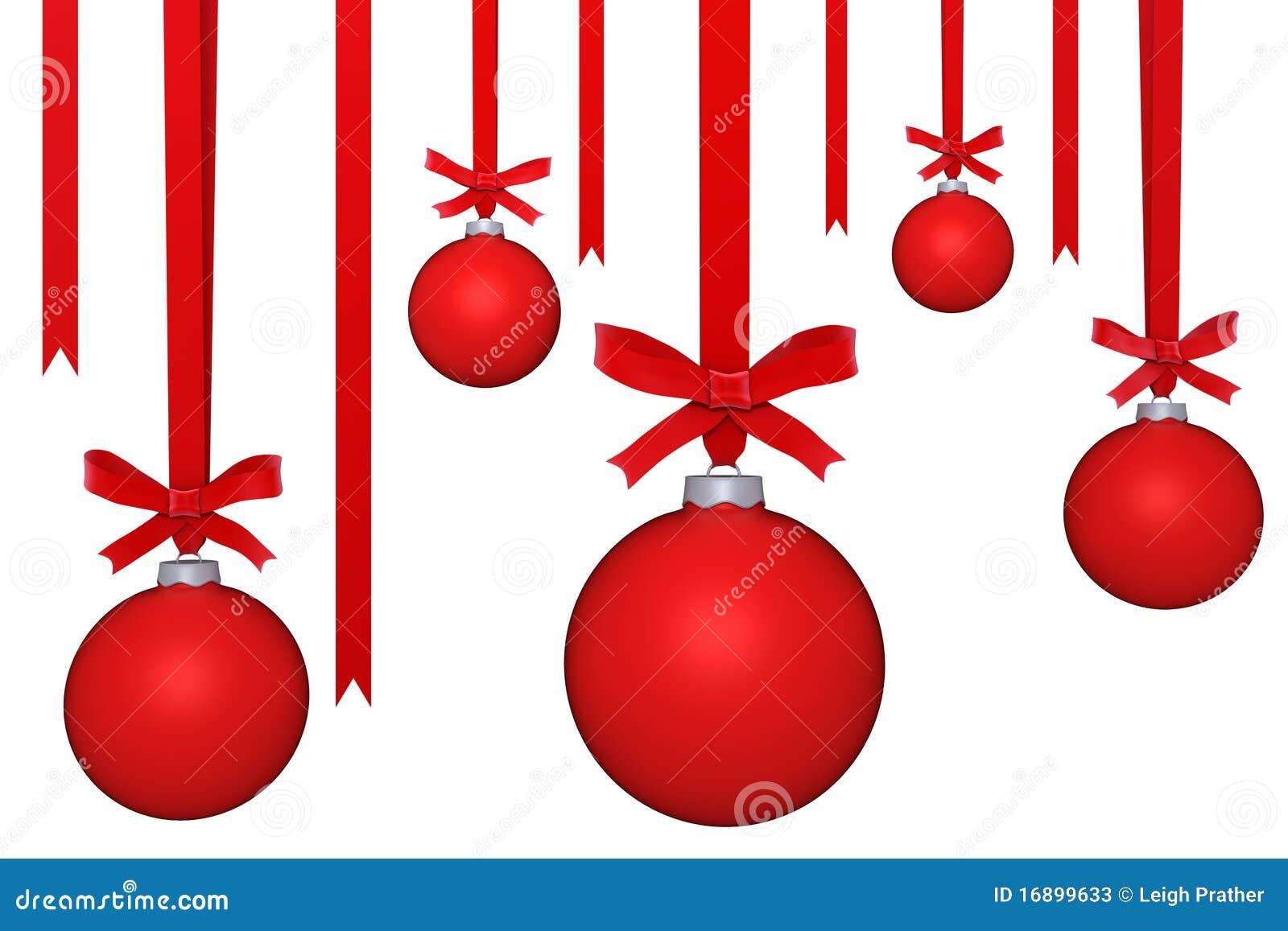 Hanging ornaments stock illustration of