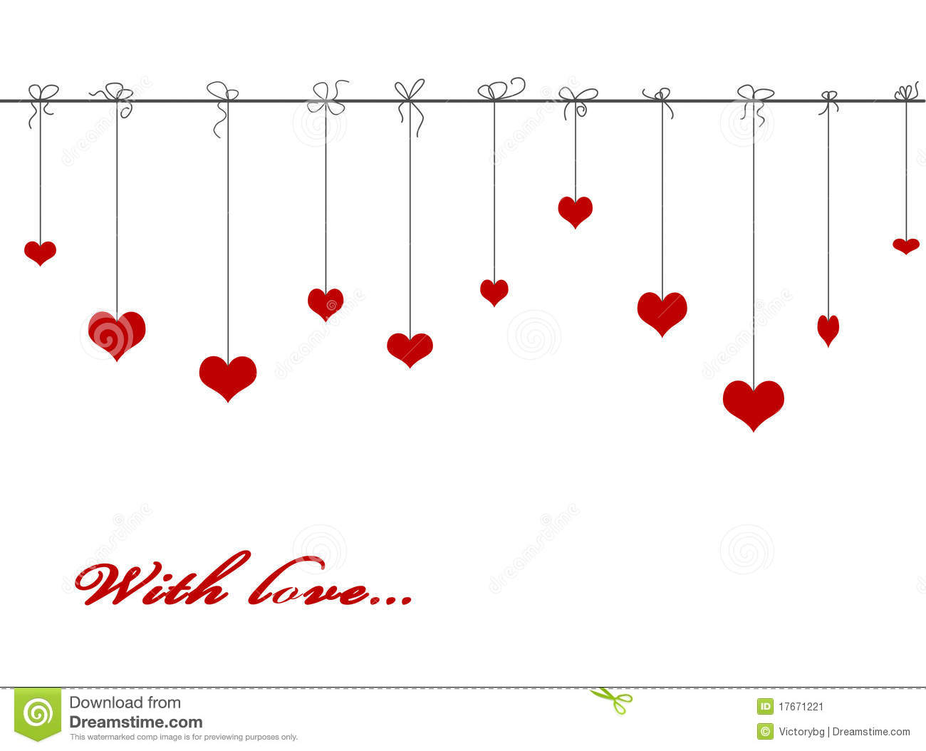 Pics photos heart black wallpaper romantic love pictures - Hanging Red Valentine Hearts Stock Image Image 17671221