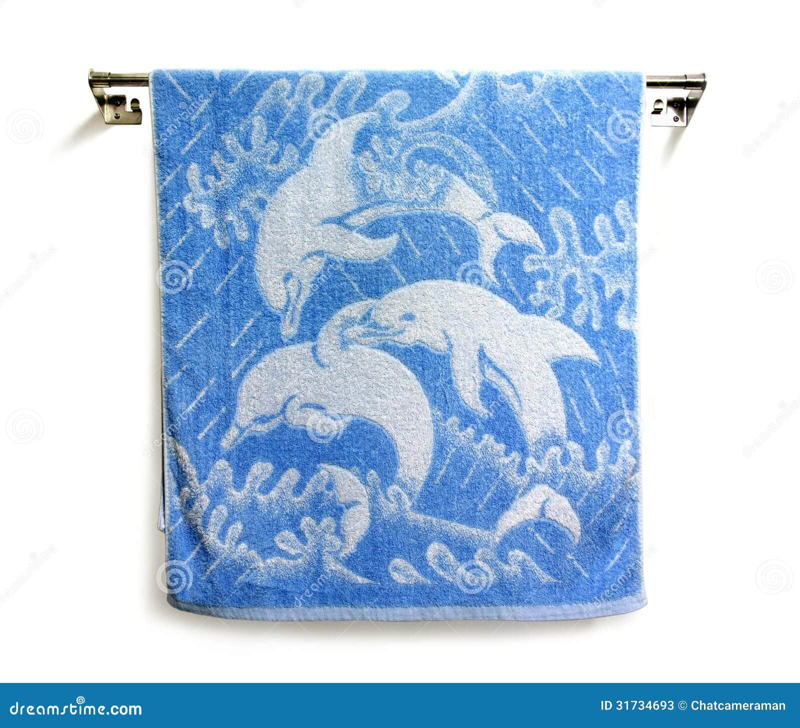 Hanging towels stock photos image 31734693