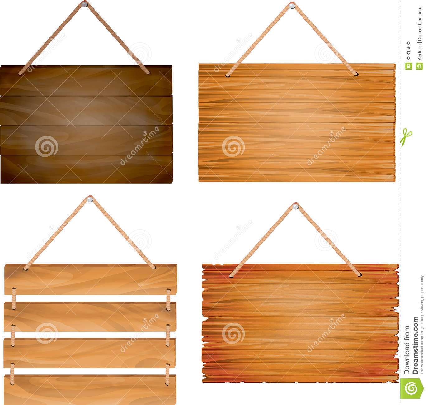 hanging wooden sign boards stock photography image 32315632