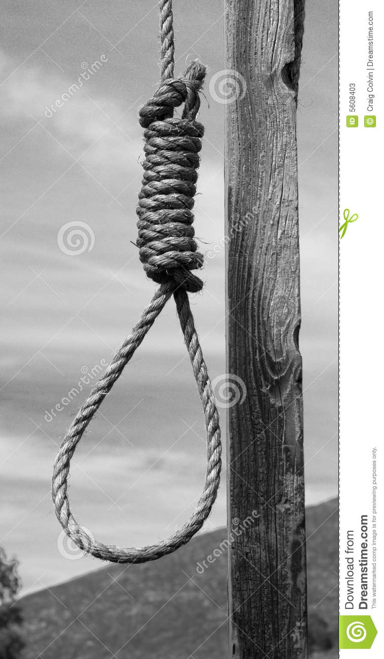Hangman's Noose Stock Photos - Image: 5608403