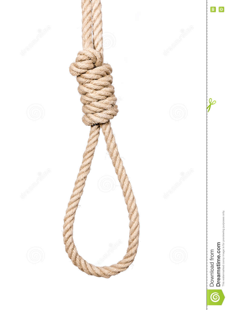 Hangman's Noose. Stock Photo - Image: 79741423