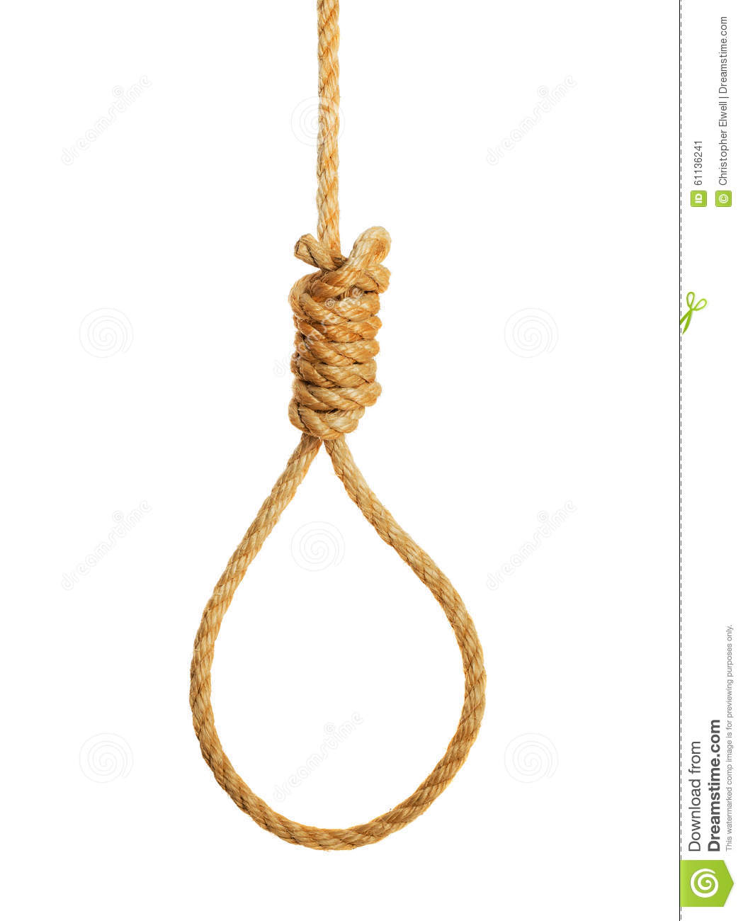 Hangmans Noose Stock Photo - Image: 61136241