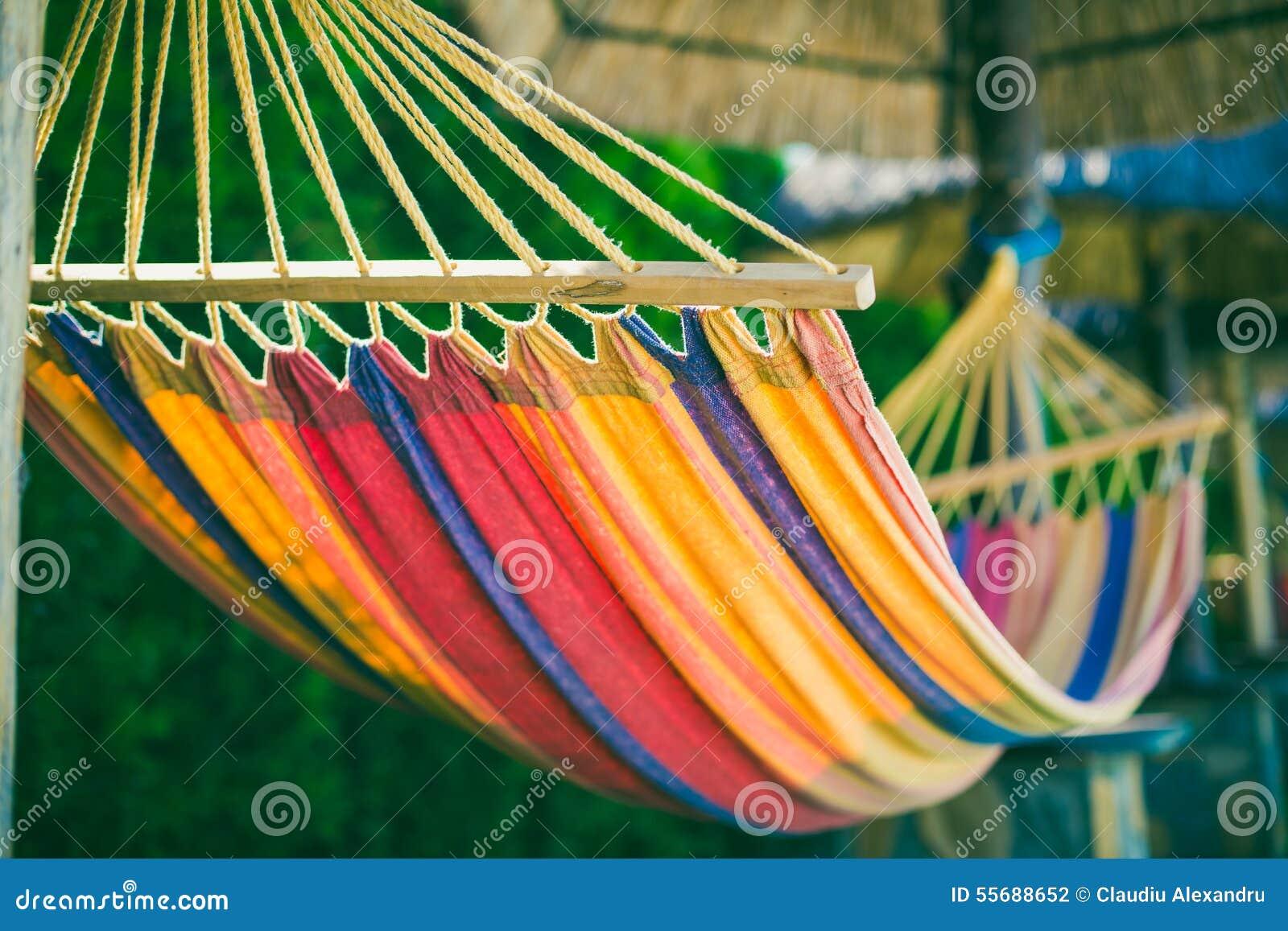 Hangmat bij het strand