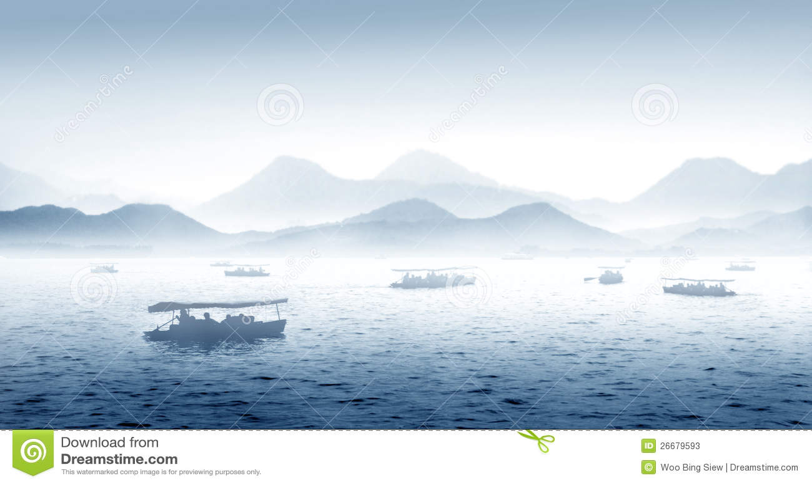 Hangzhou西方湖在中国