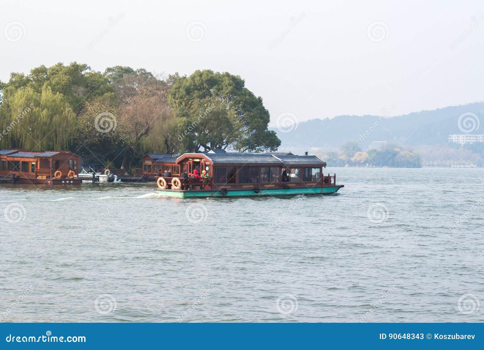 Hangzhou västra Lake