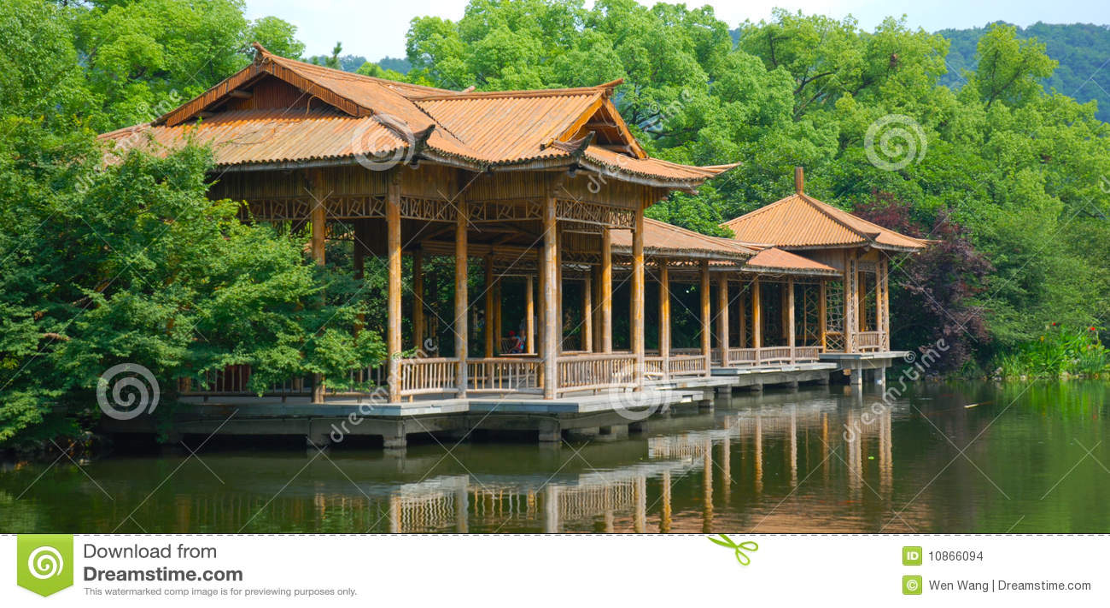 Hangzhou West Lake Scenery Stock Images