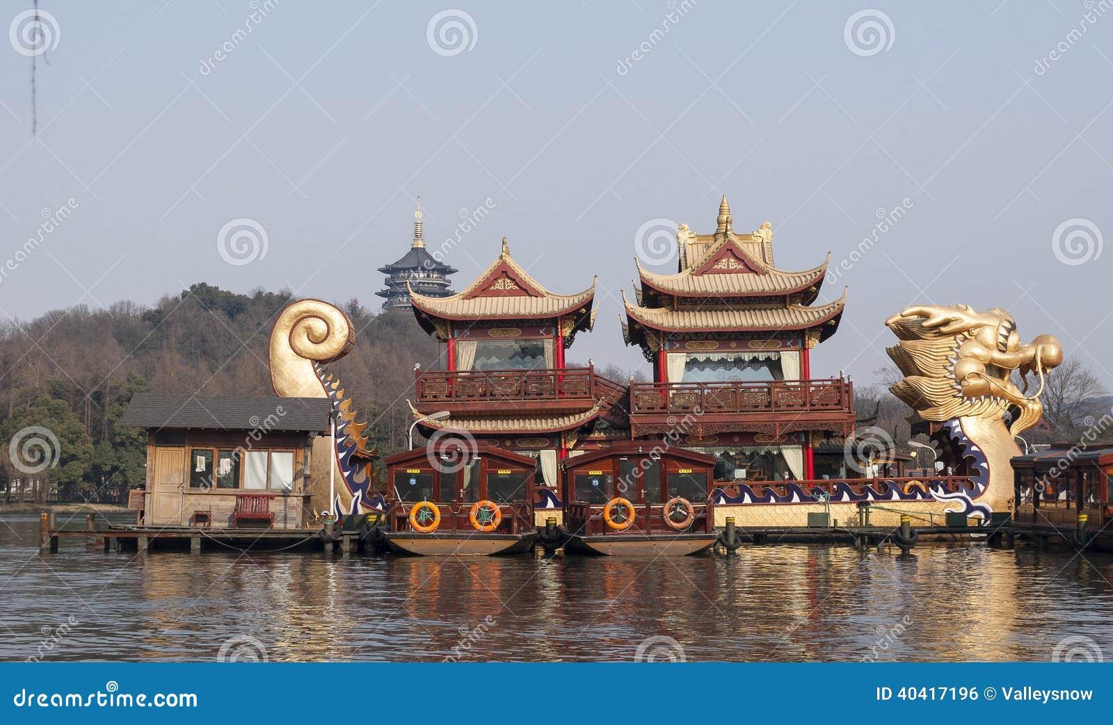Hangzhou West Lake Scenic Area Editorial Photo