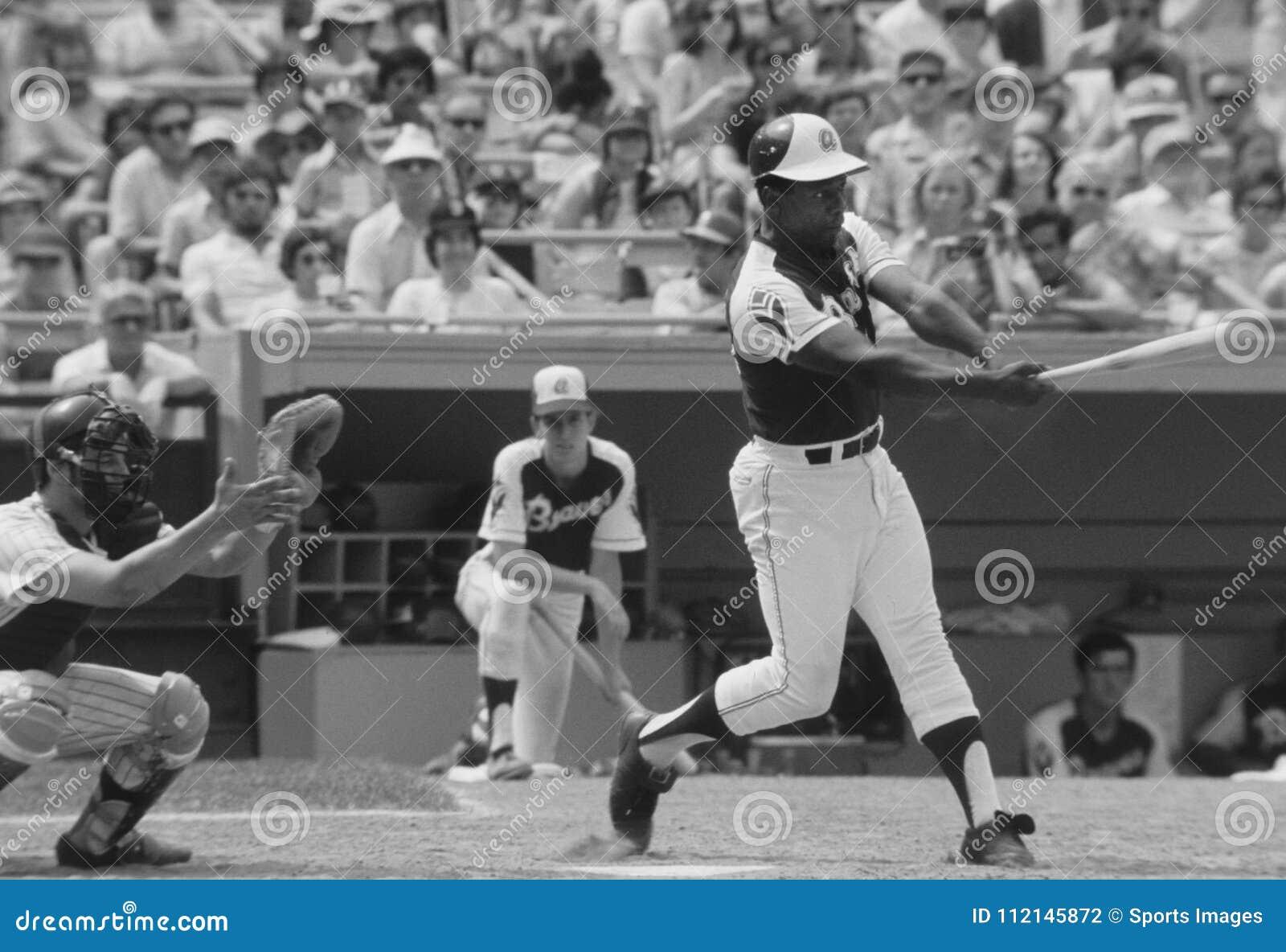 Hank Aaron der Atlanta Braves