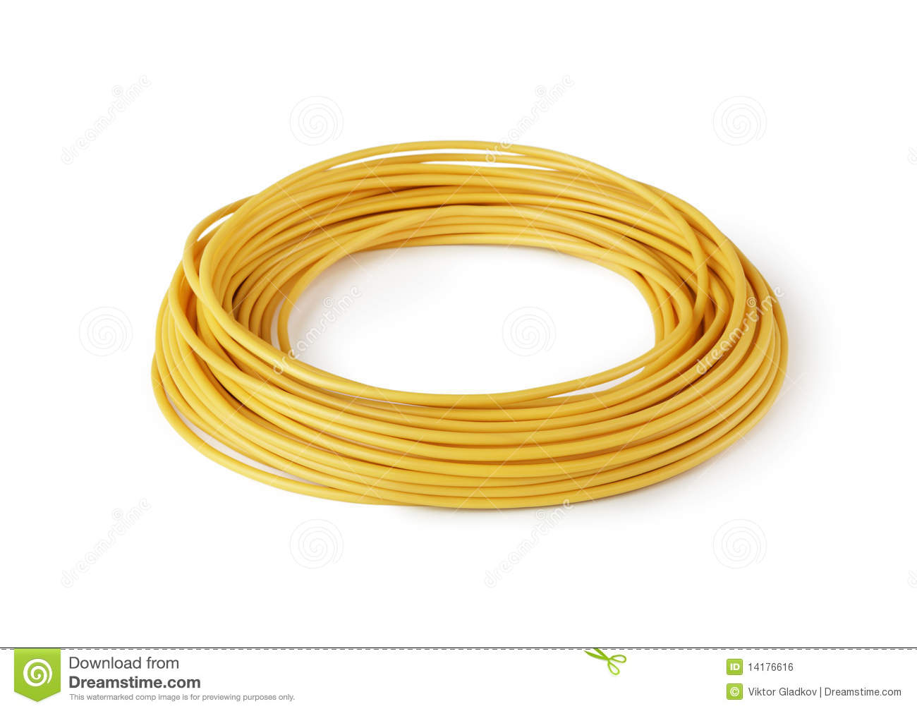 hank-yellow-wire-isolated-14176616 Wiring Yellow Wire on