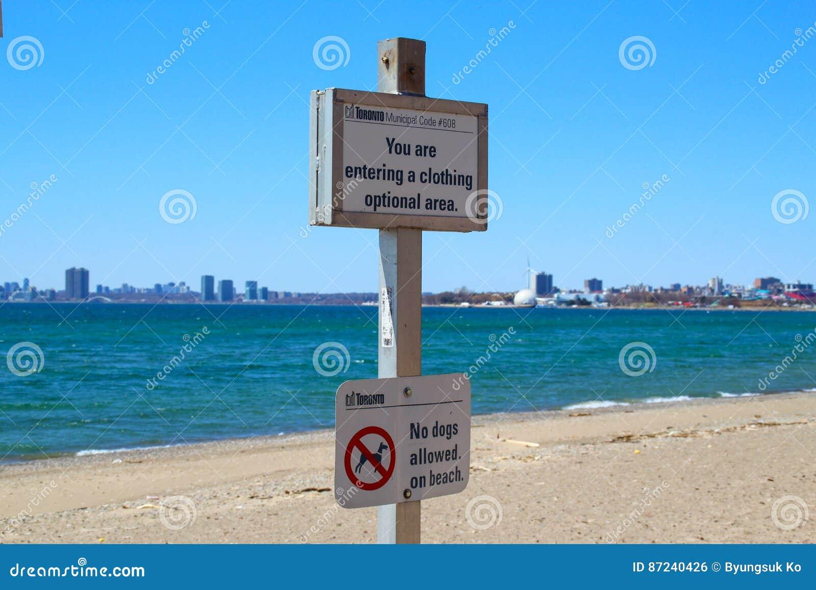 Hanlan& x27; praia do ponto de s
