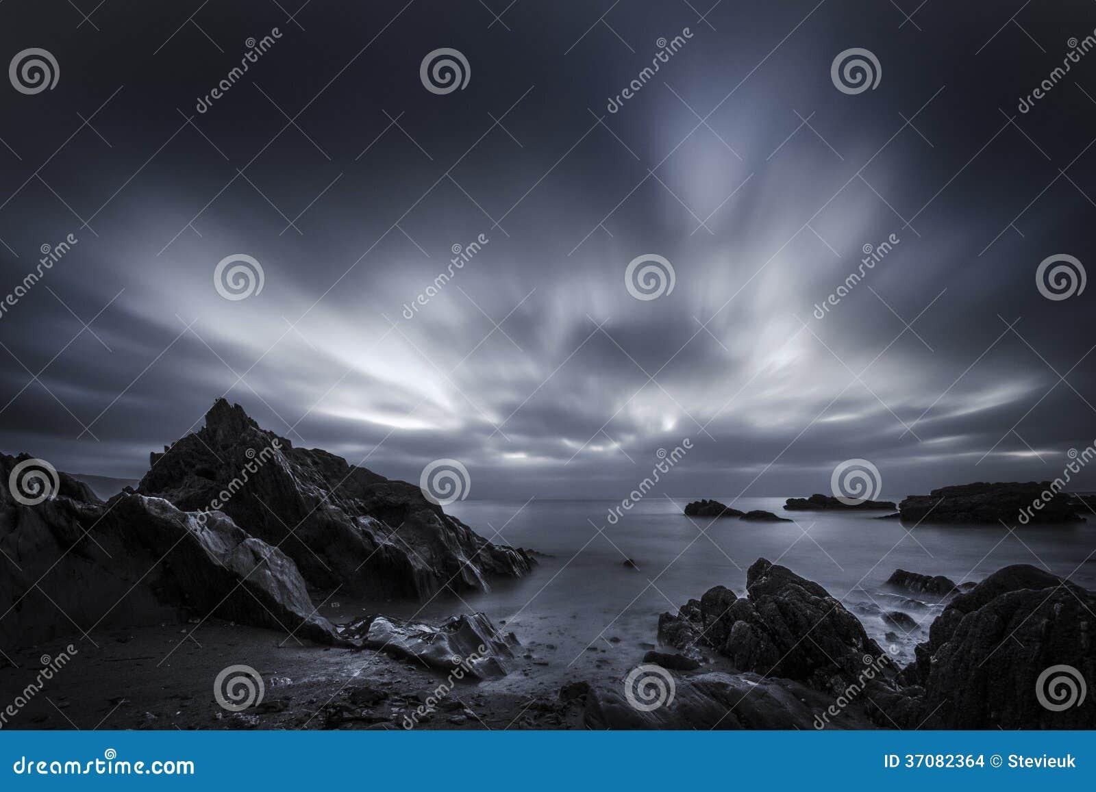 Download Hannafore Punktu Ponuractwa Wschód Słońca Zdjęcie Stock - Obraz złożonej z wcześnie, ponuractwo: 37082364