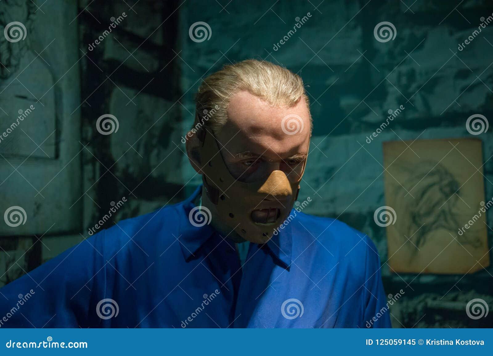 Hannibal Lecter в музее Мадам Tussauds