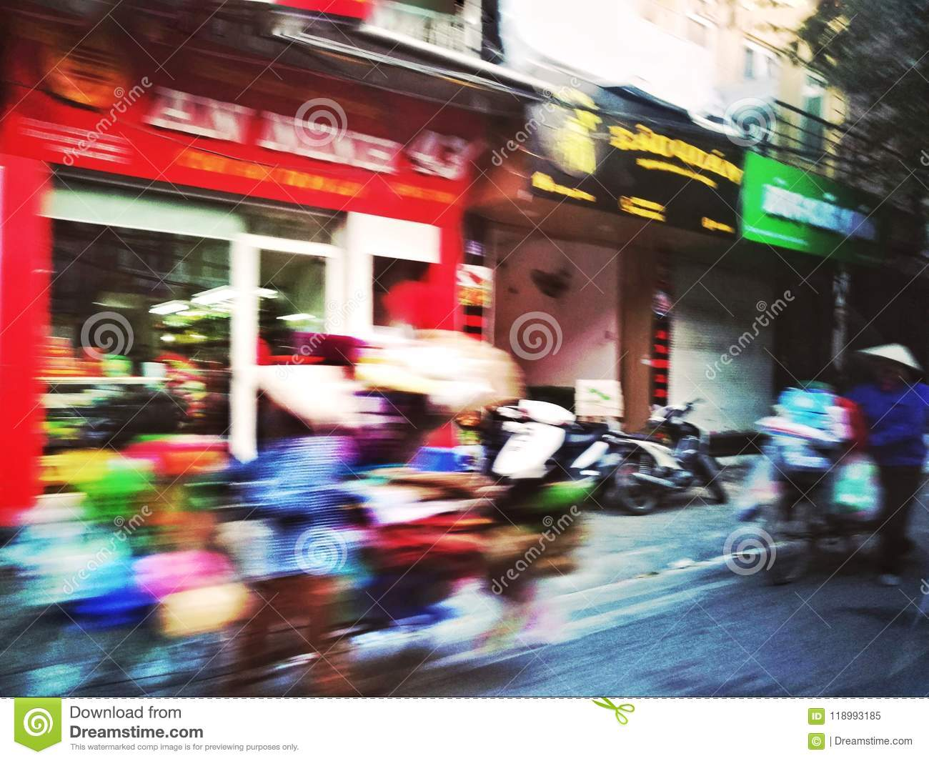 Hanoi editorial image  Image of iconic, passing, fast - 118993185