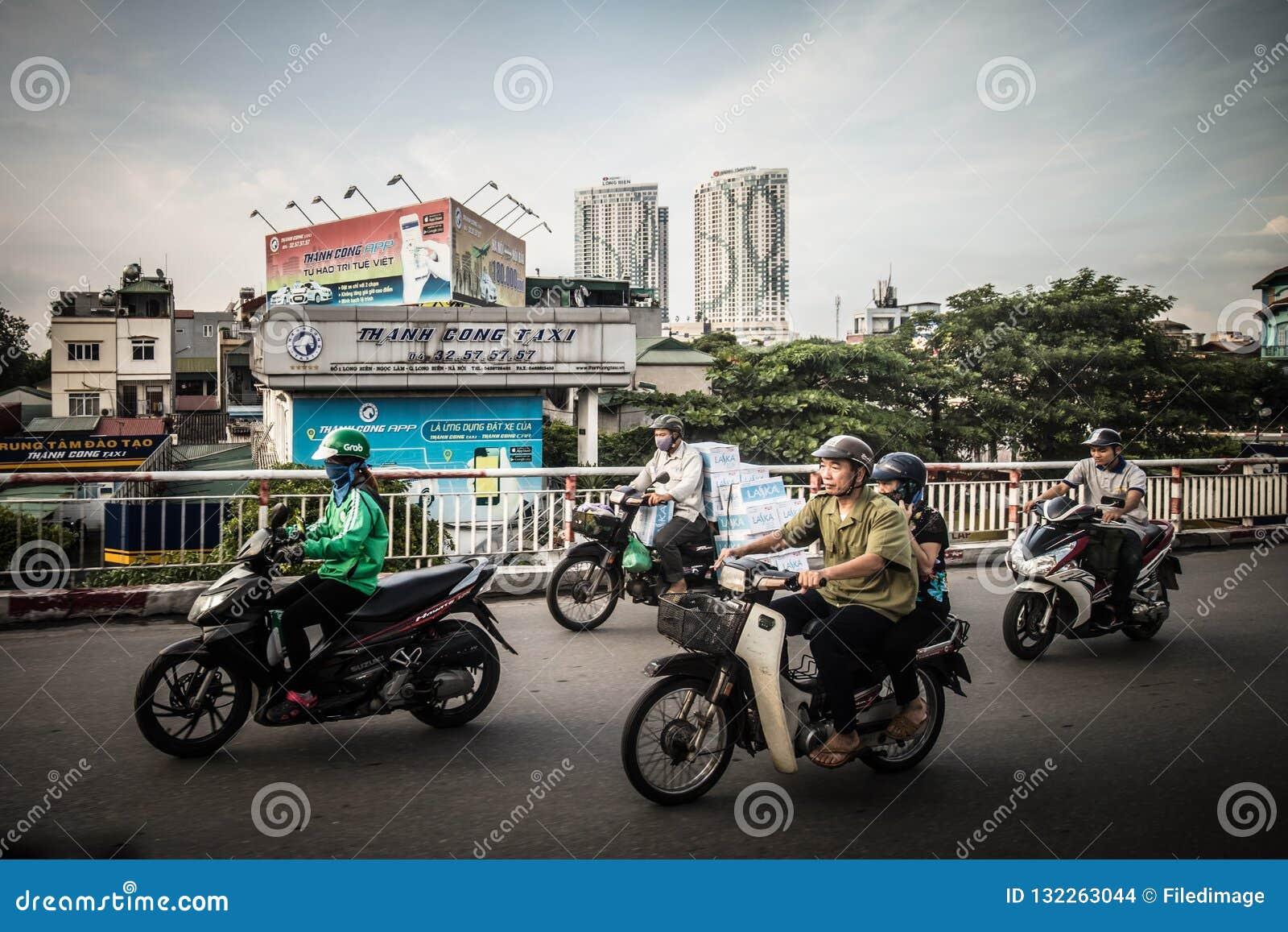 Hanoi Daily Traffic