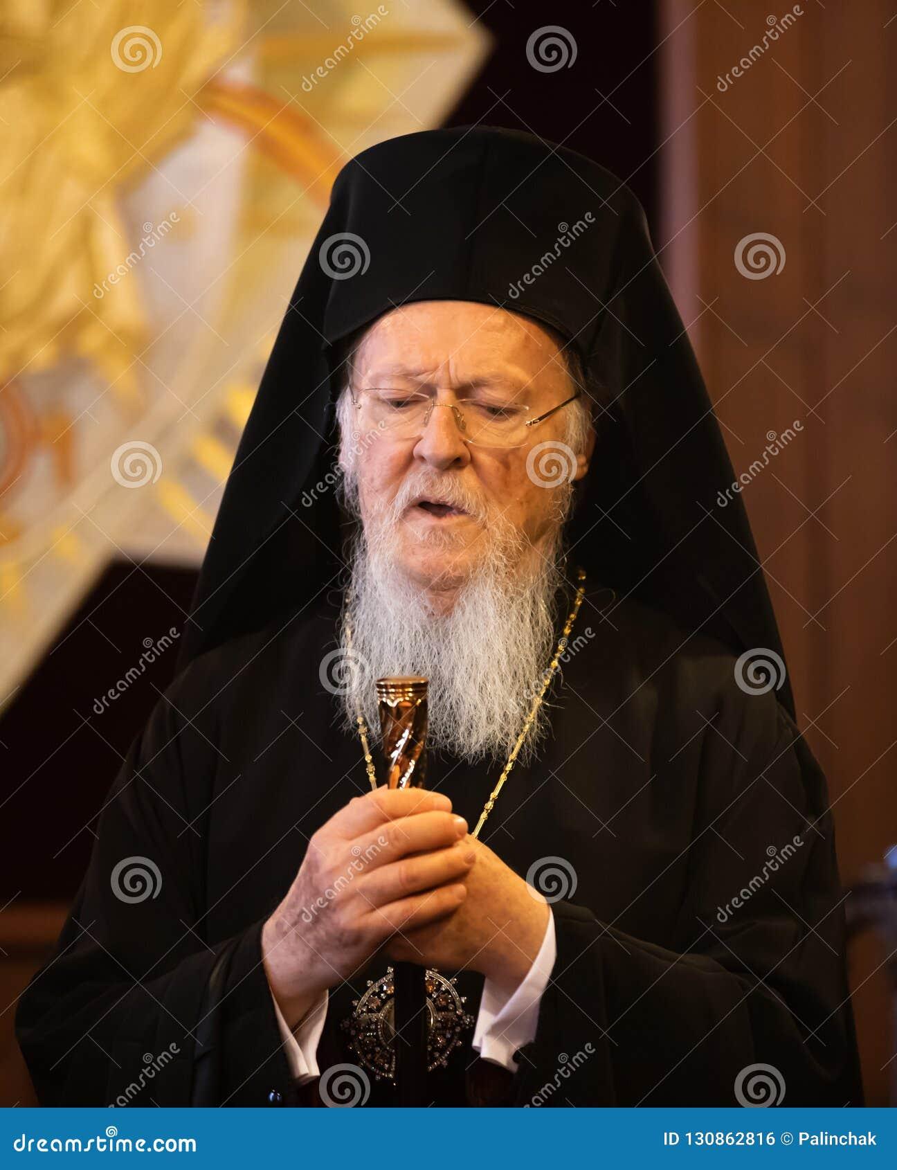 Hans All-helighet ekumeniska patriark Bartholomew
