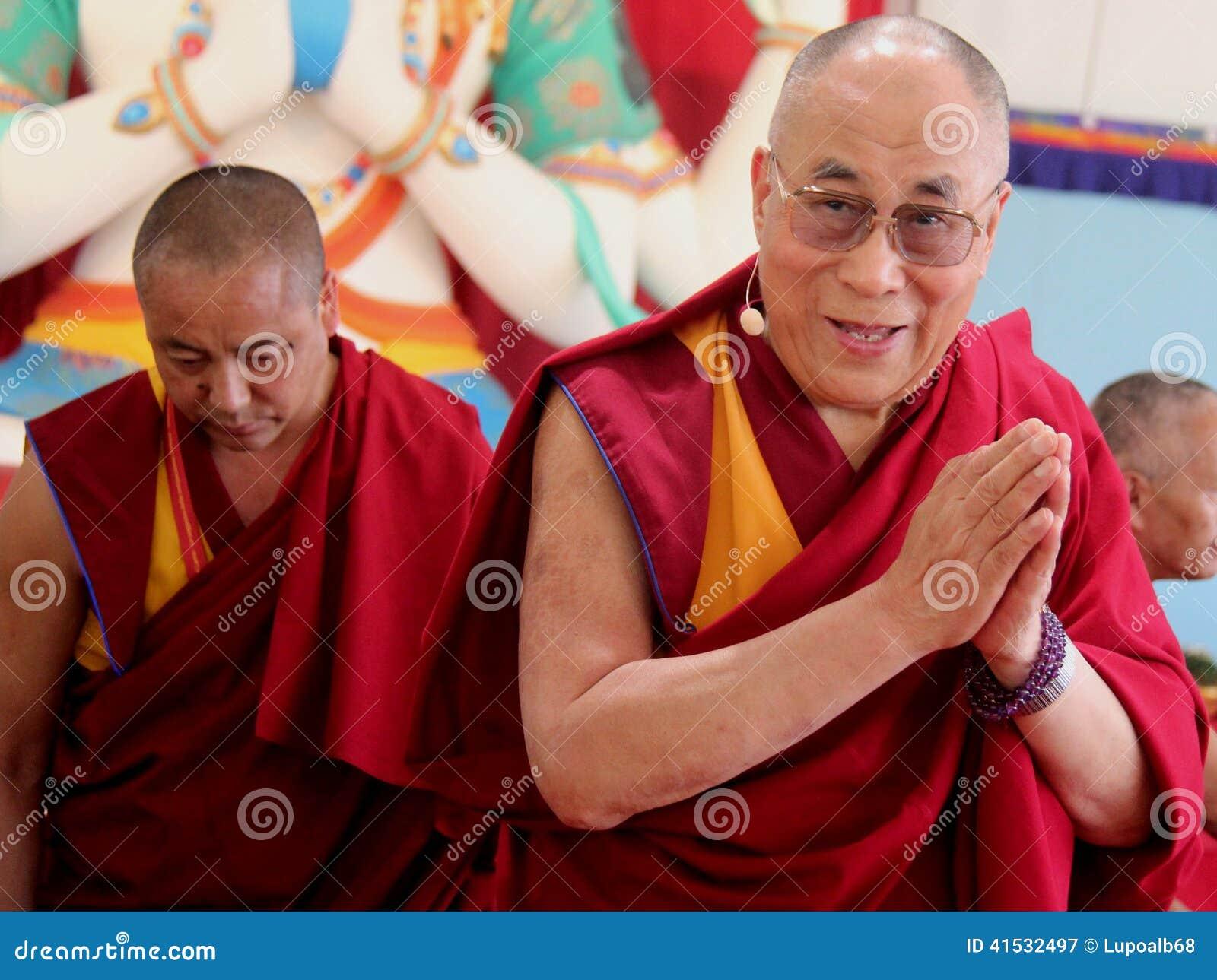 Hans helighet XIVEN Dalai Lama Tenzin Gyatso