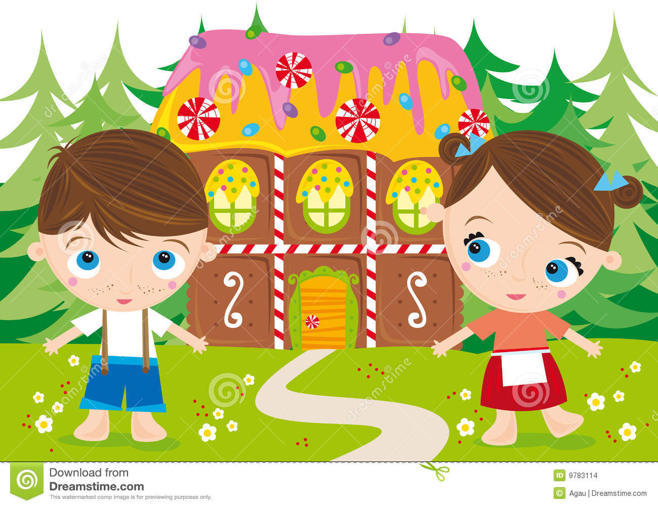 Hansel And Gretel Stock Images Image 9783114