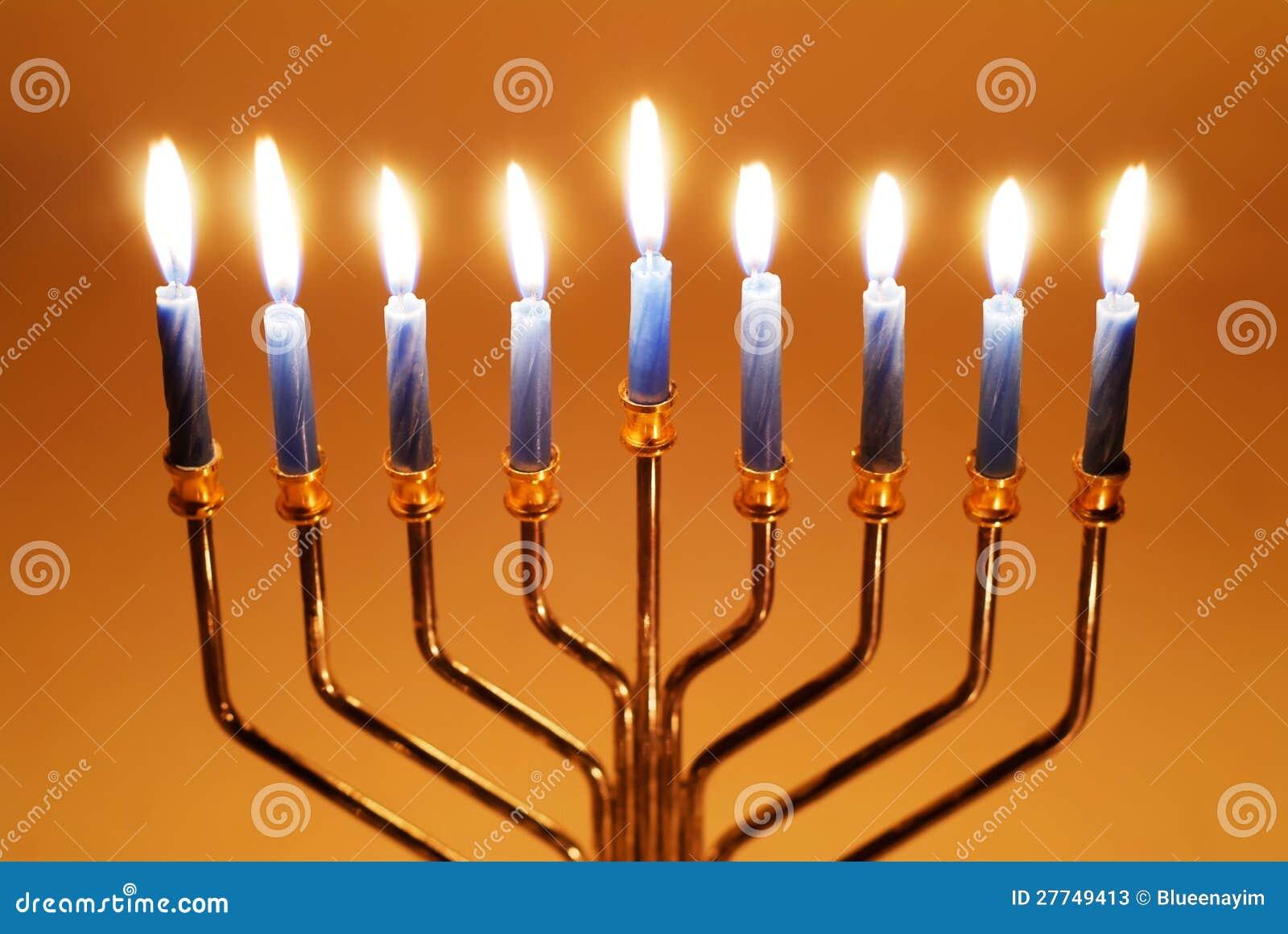 Hanukkah Candles