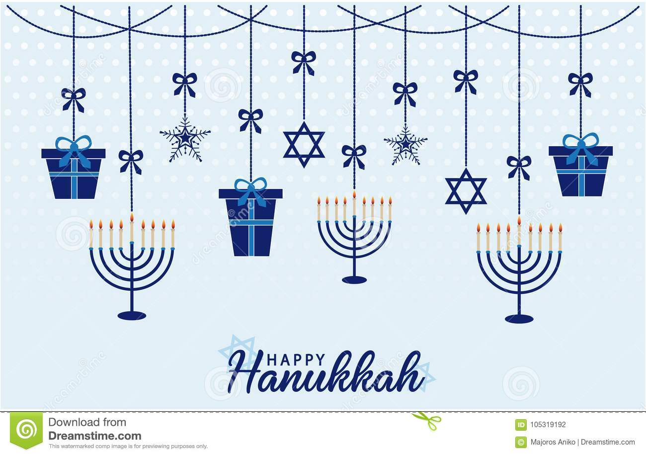 picture relating to Printable Hanukkah Card identified as Hanukkah Card Or Record. Inventory Vector - Case in point of