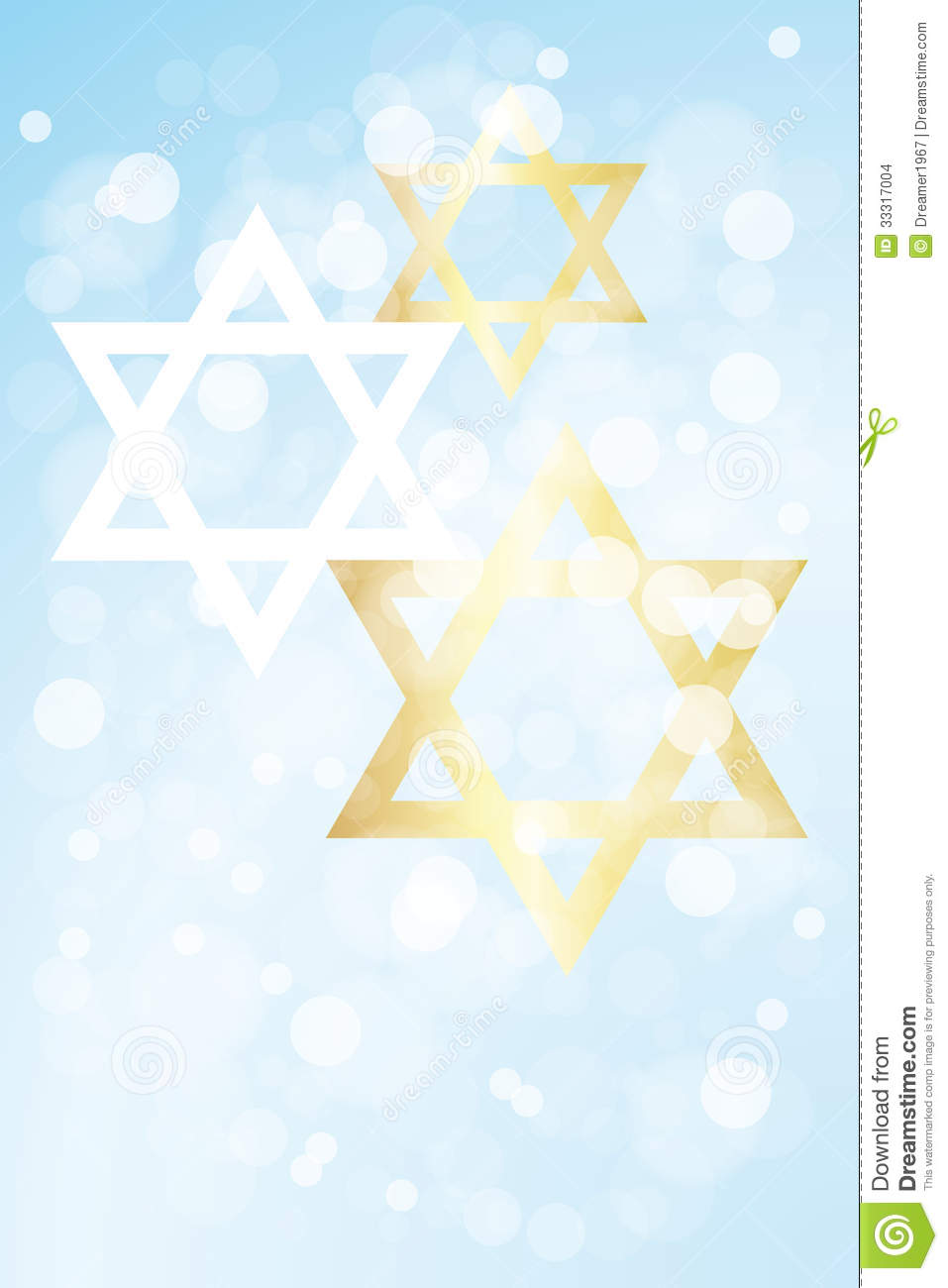 hanukkah card template