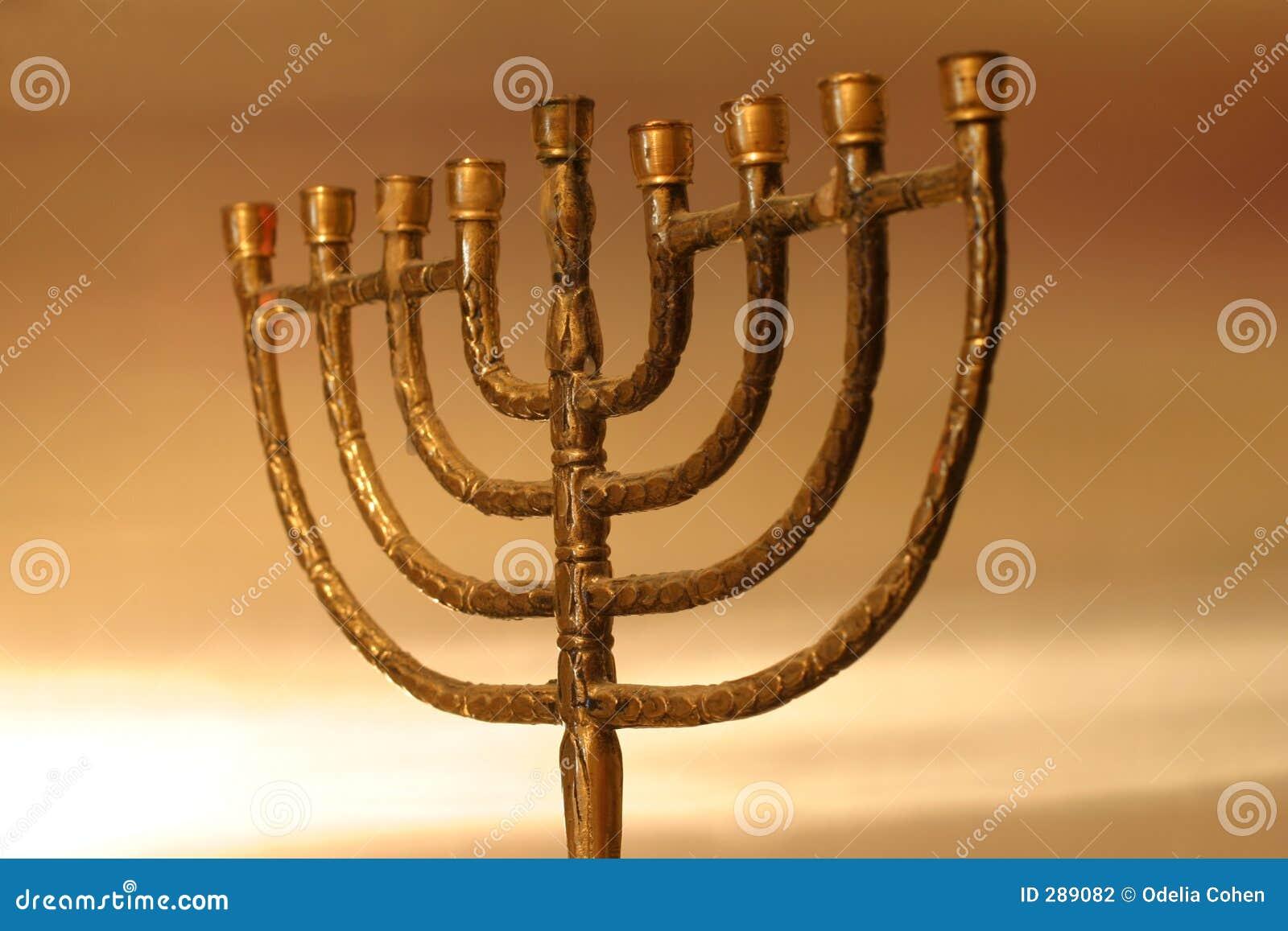 Hanukkah menora