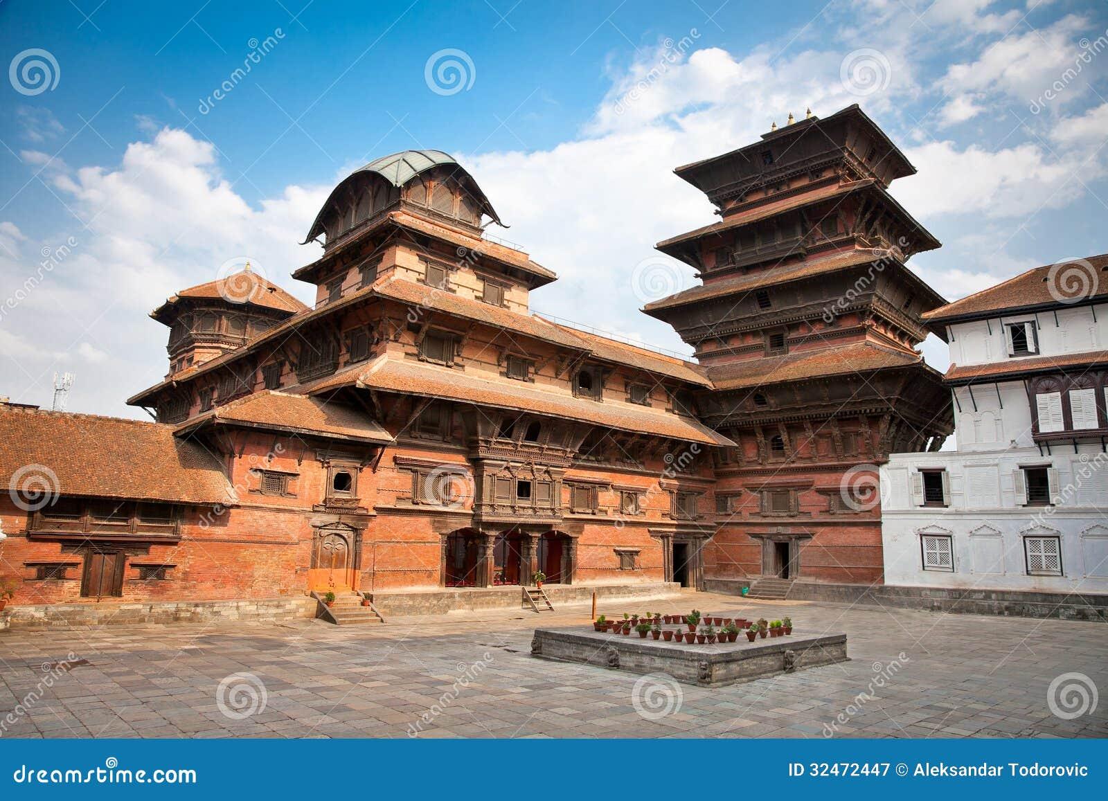 Hanuman Dhoka, η παλαιά Royal Palace, πλατεία Durbar στο Κατμαντού, ΝΕ