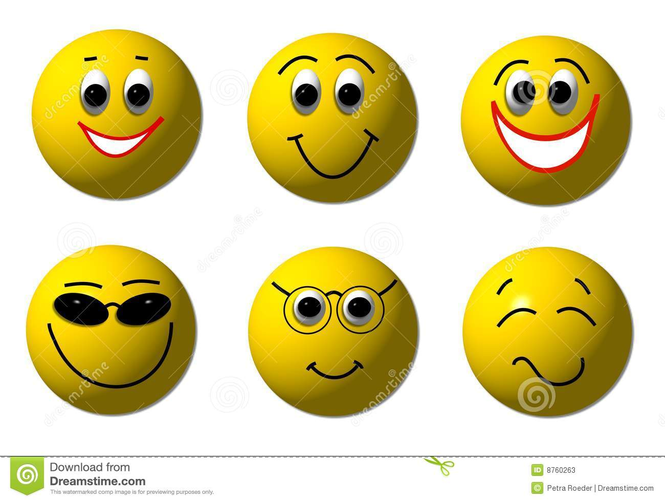 happy 3d smileys stock illustration. illustration of hate - 8760263
