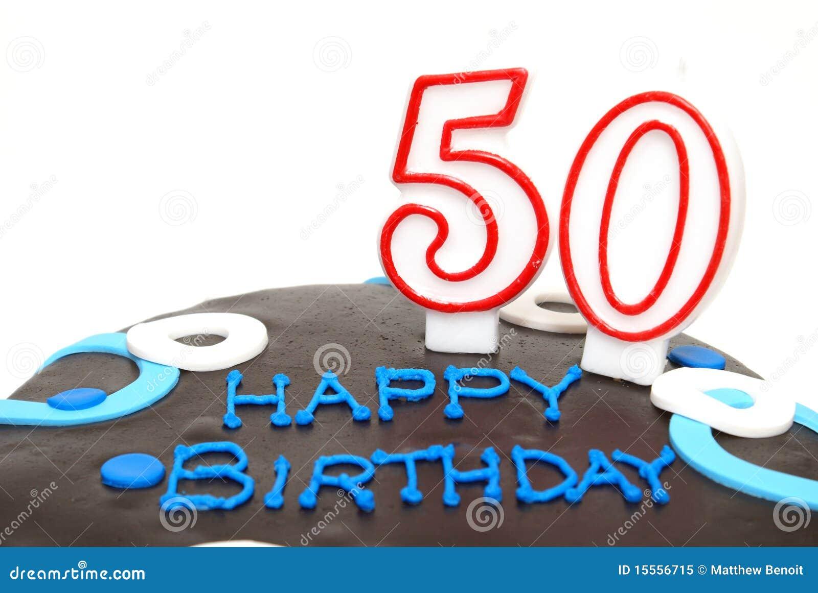Happy 50th Birthday Stock Image Of Ceremony