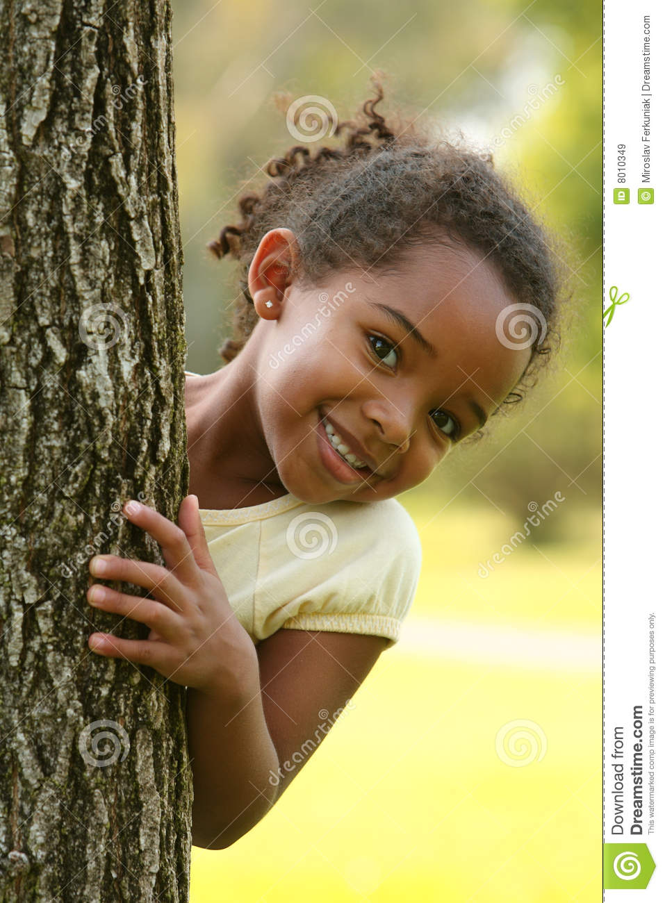 Happy African American Child Royalty Free Stock Images - Image ...