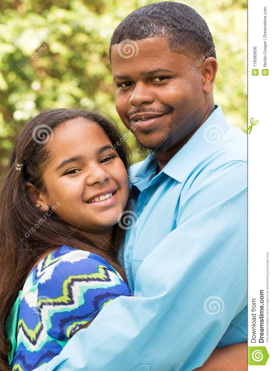 Download Happy African American Family. Stock Photo - Image of closeup, happiness: 118385836