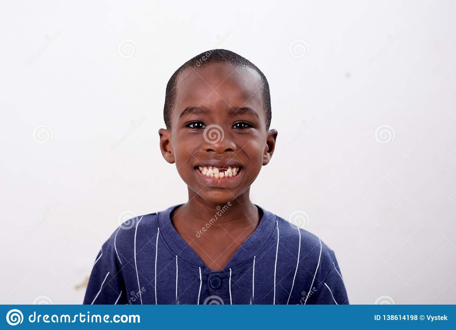 Happy African child