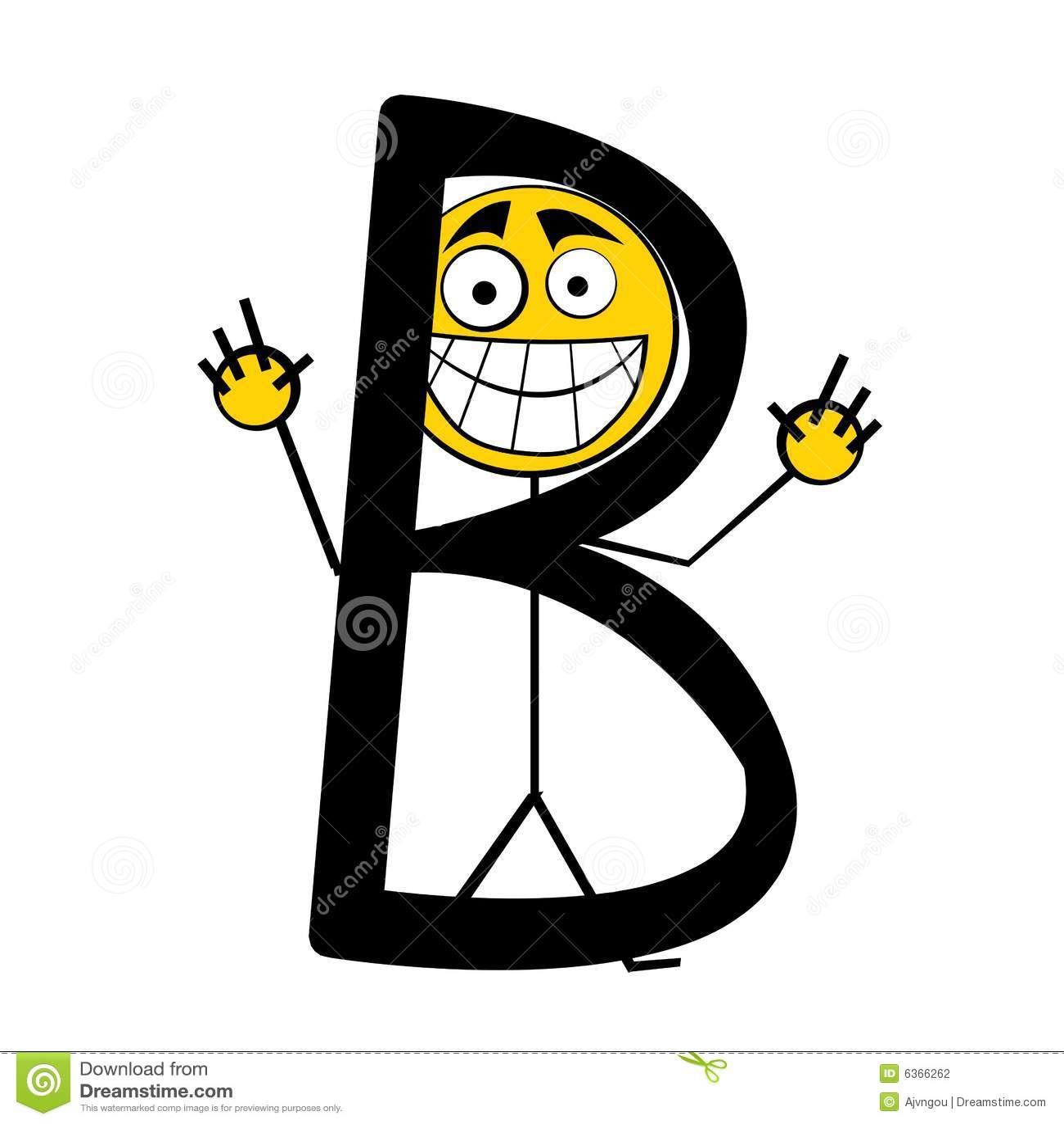 happy alphabet letters b