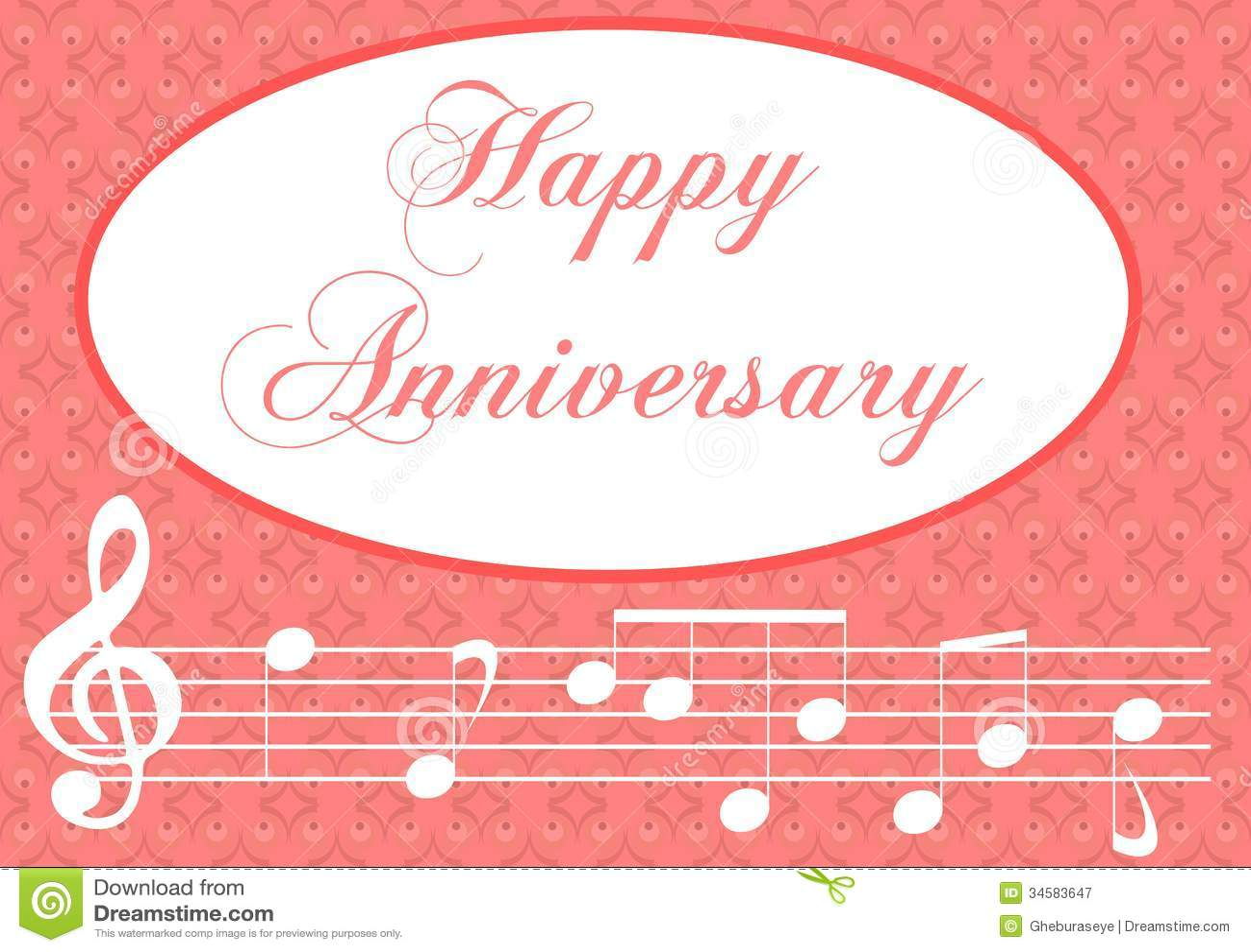 happy anniversary stock image  illustration of card