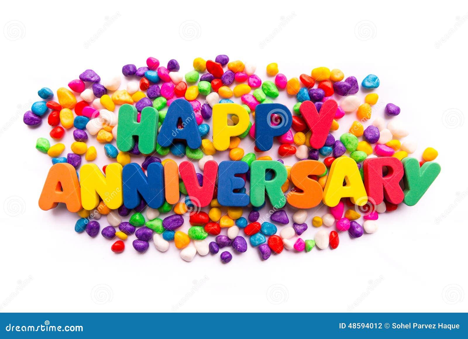 Happy Anniversary Stock Photo Image Of Celebration Event