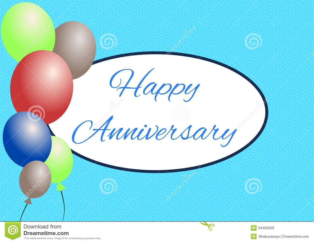 Happy anniversay stock illustration. Illustration of ...