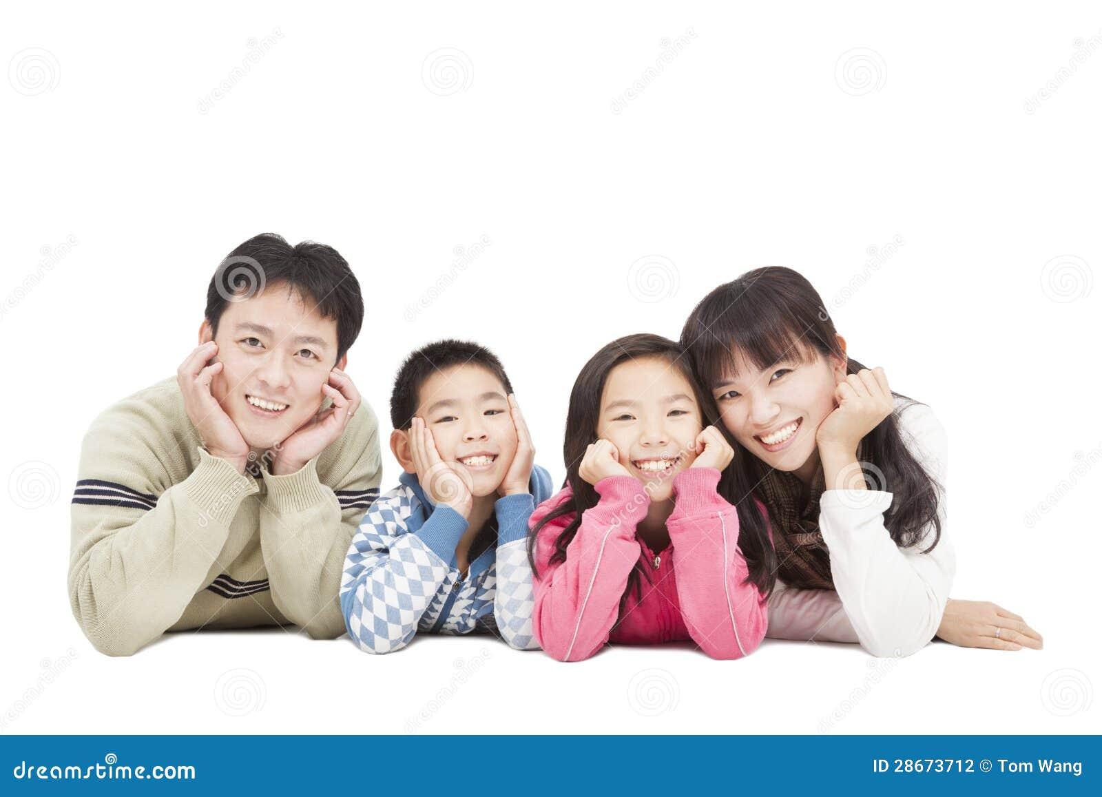 Happy Asian Family Stock Photography Image 28673712