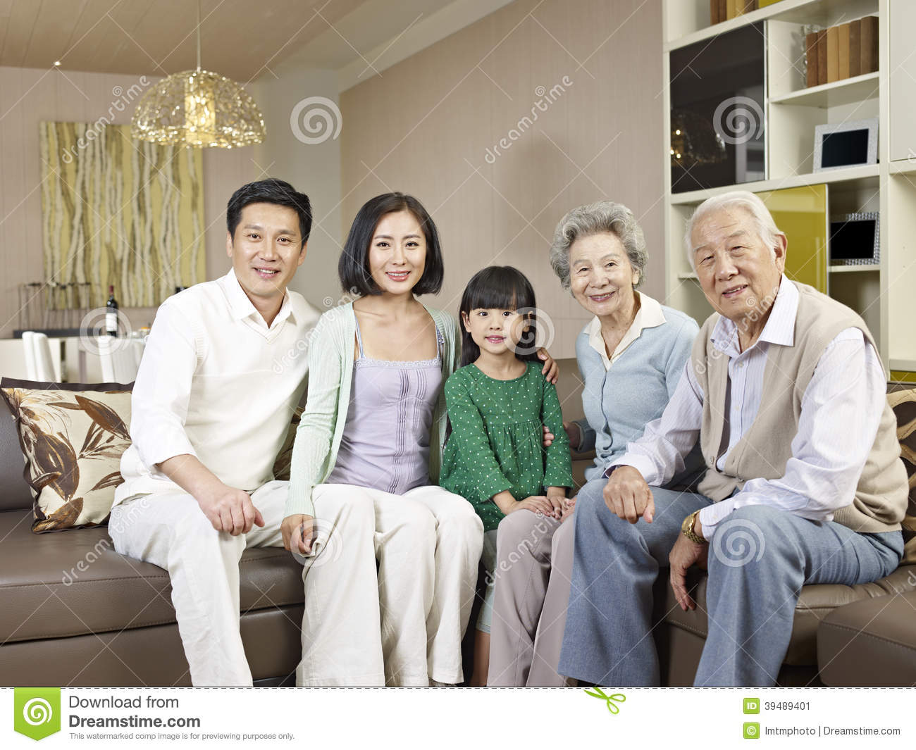 Asian Family No 1