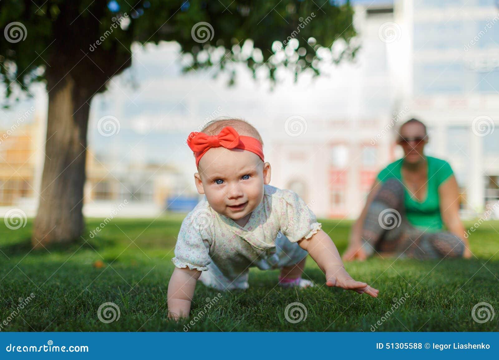 Child Running Away From Mom