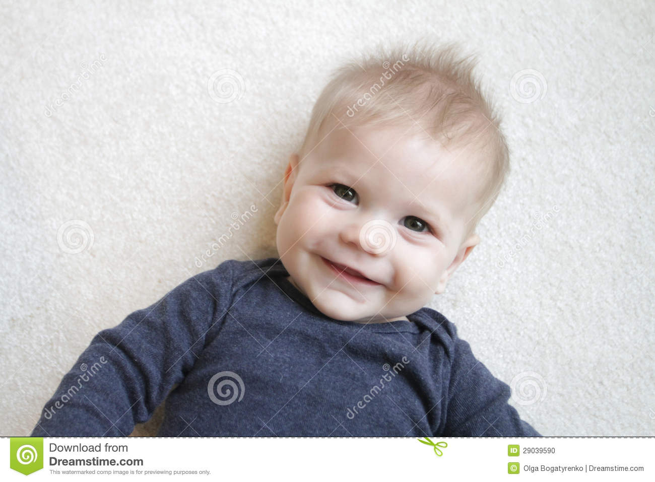 Happy Baby Face Stock Photo - Image: 29039590