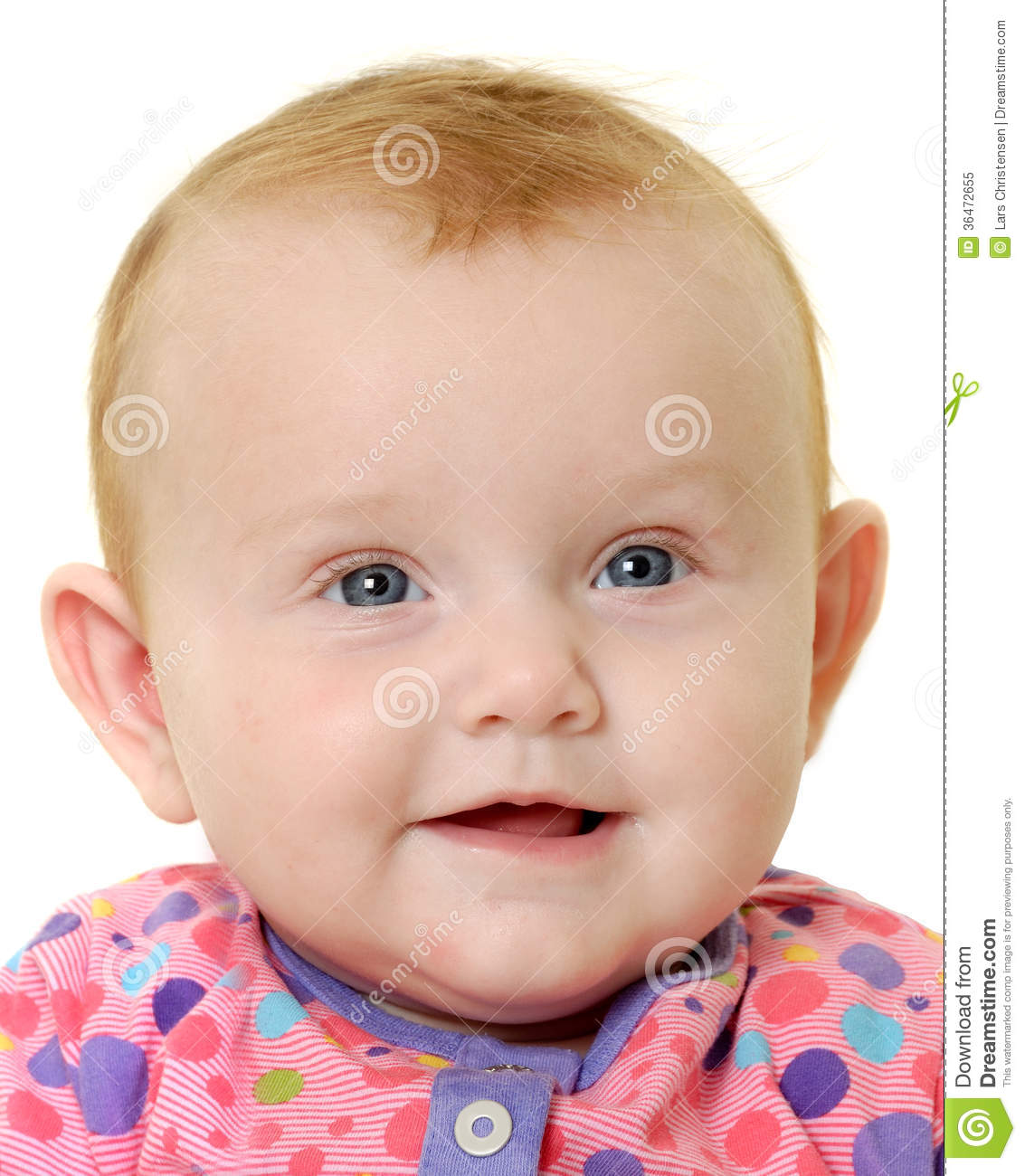 Happy Baby Face Royalty Free Stock Photo - Image: 36472655
