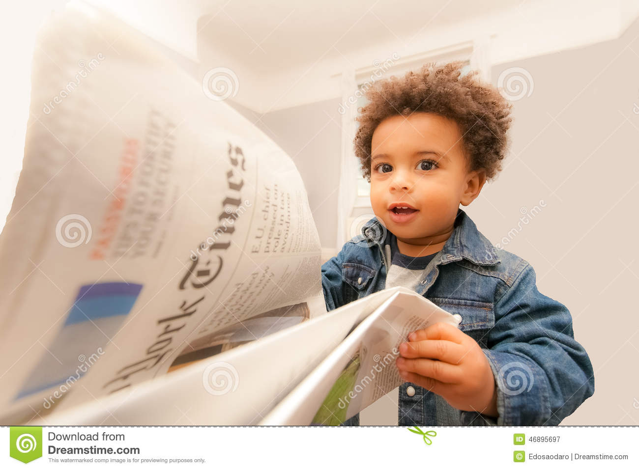 Baby Reads New York Times