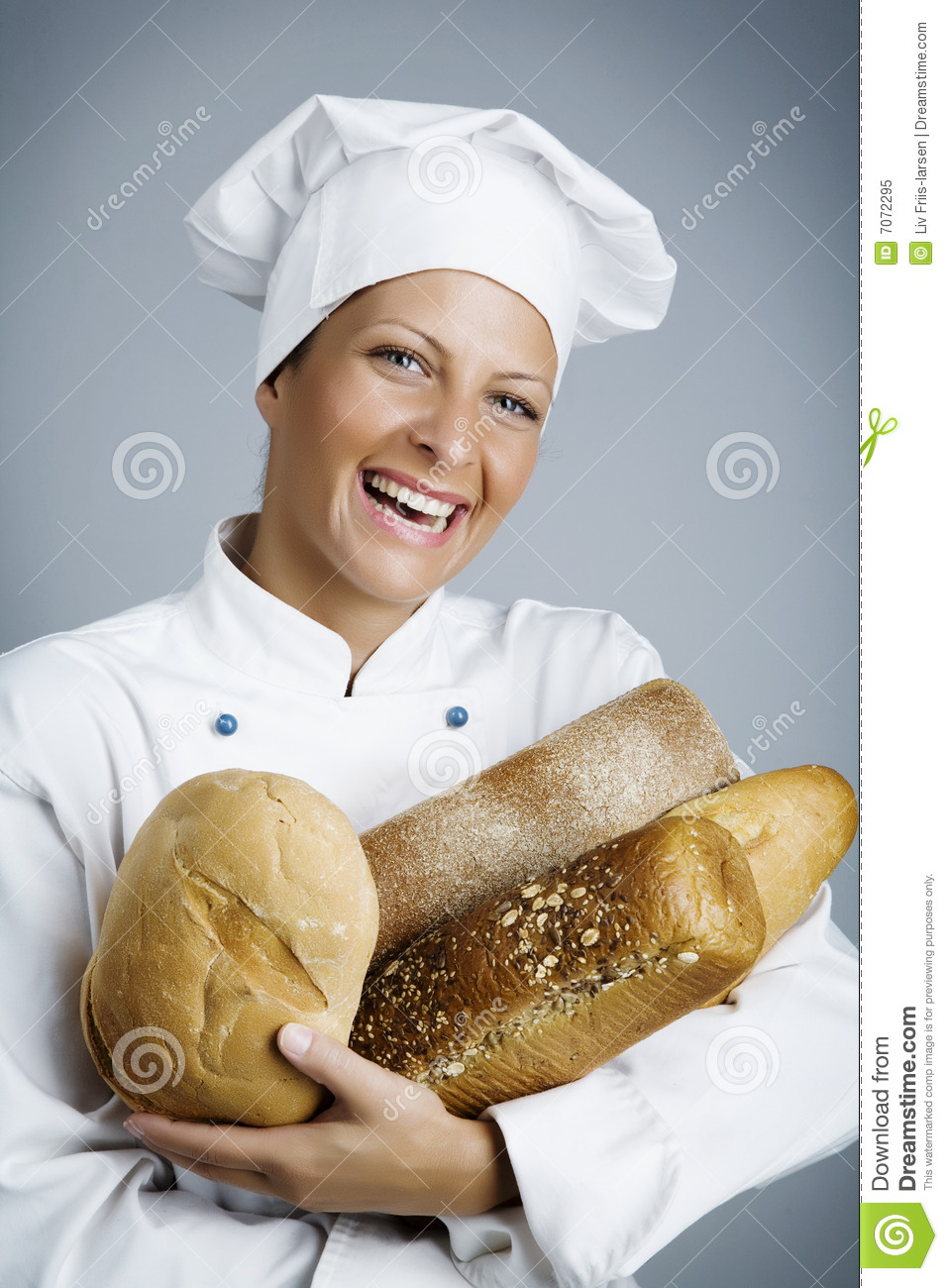 Happy Baker Royalty Free Stock Photo - Image: 7072295