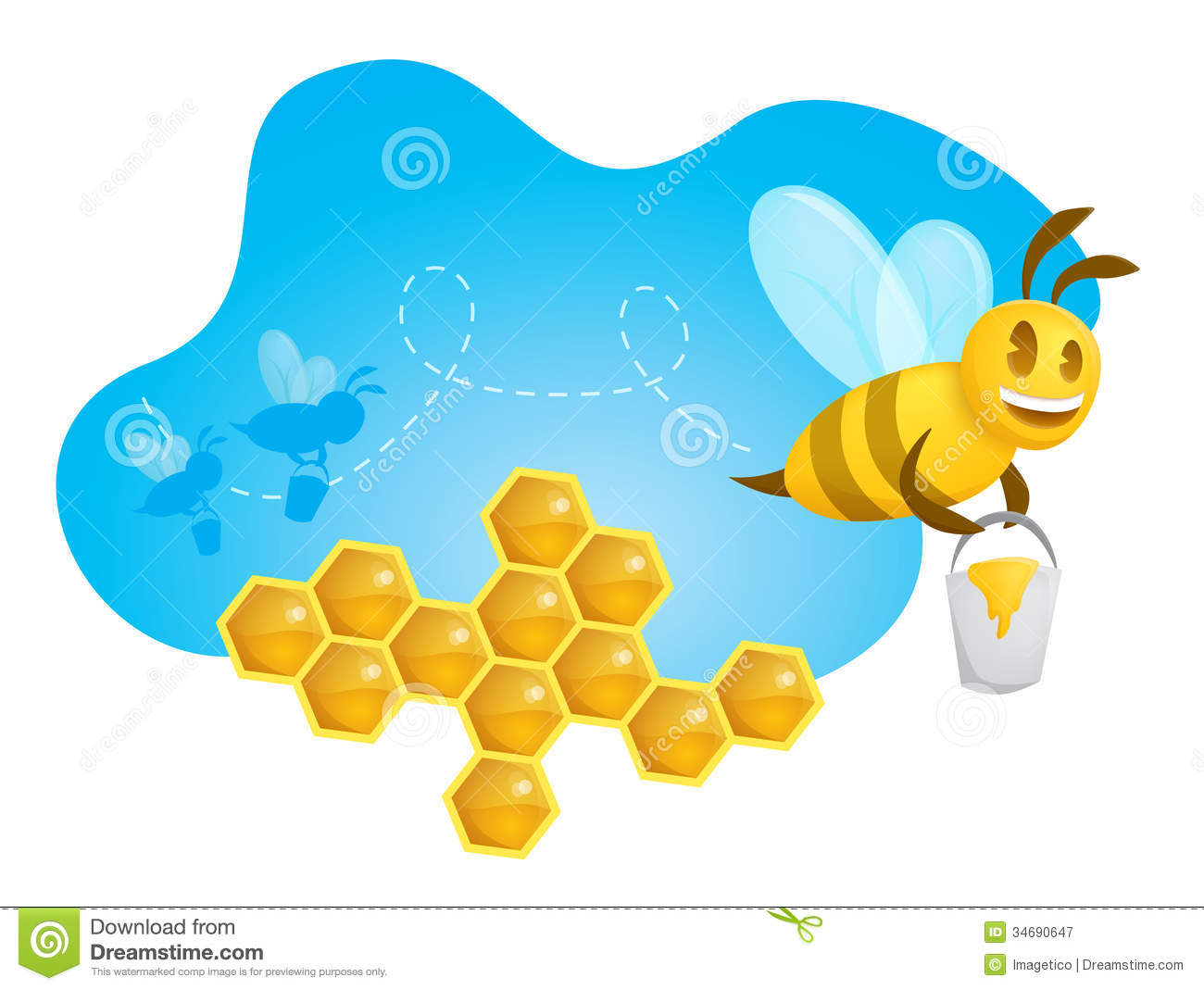Displaying 20> Images For - Bee Silhouette Clip Art...