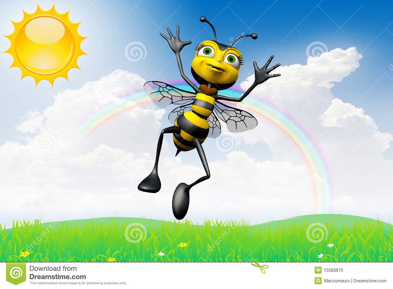 Bees are flying insects closely related to wasps and ants, and are ...